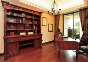 豪华美式风格书房装修效果图大全