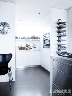 现代小厨房橱柜图片欣赏