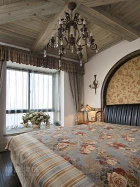 地中海卧室飘窗效果图欣赏