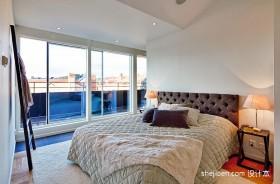 2013现代风格复式小卧室移门装修效果图欣赏