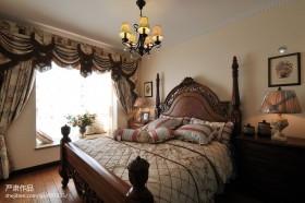 美式卧室效果图大全2013图片