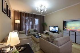 两室一厅客厅装修效果图欣赏