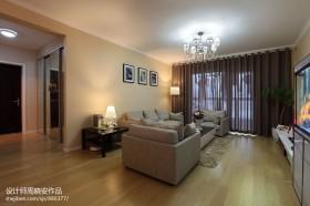 现代简约风格小客厅装修效果图大全2013图片
