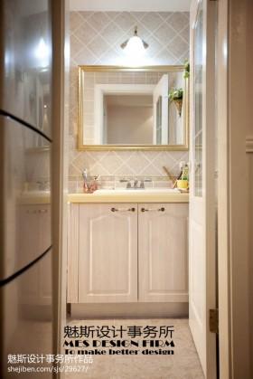 小卫生间洗手台效果图欣赏