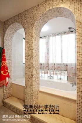 卫生间马赛克瓷砖效果图图片