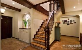 入户玄关楼梯效果图图片