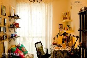 田园风格小书房装修效果图片