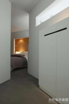 简约风格两室一厅卧室玄关装修效果图