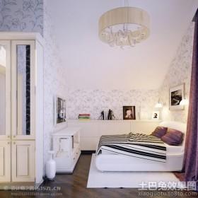 斜顶阁楼卧室简装修效果图大全