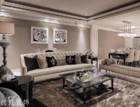 新古典客厅装修效果图大全2013图片