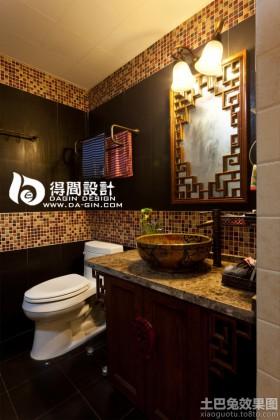 2013东南亚卫生间马赛克瓷砖效果图