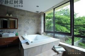 东南亚风格卫浴装修效果图