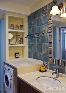 卫生间洗手台装修效果图大全