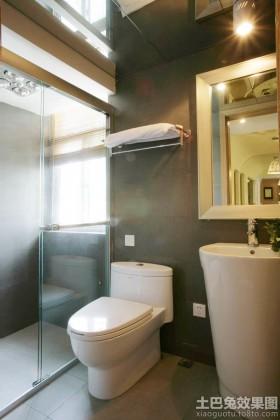 现代2平米卫生间装修效果图大全2013图片