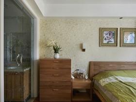 简约中式主卧室装修效果图