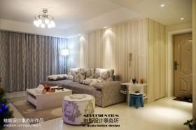 现代风格客厅窗帘装修效果图欣赏