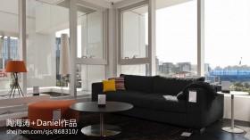 2013现代客厅阳台装修效果图片大全