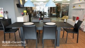 现代餐厅效果图片欣赏