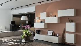 现代风格室内电视柜装修图片