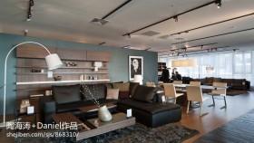 现代风格客厅餐厅一体设计图片