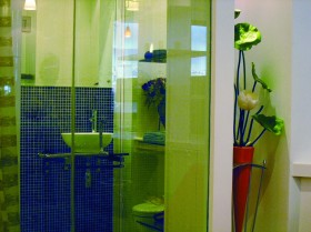 单身公寓样板房卫生间装修图片