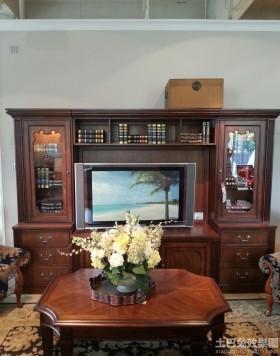 美式电视柜装修效果图大全2013图片