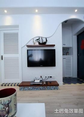 电视墙装修效果图2013