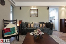 简约客厅沙发效果图图片