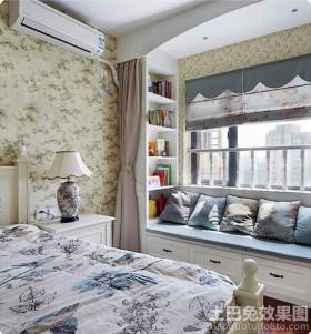 卧室带飘窗设计效果图