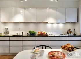 一字型厨房整体橱柜效果图