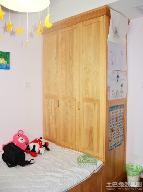 家居儿童房柜子图片