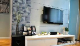 现代电视背景墙图片