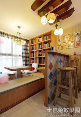 书房榻榻米升降台装修设计