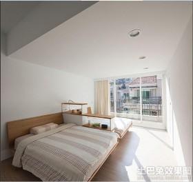 带阁楼的房子卧室装修效果图
