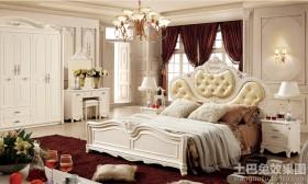 欧式卧室实木柜子