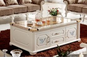 现代沙发茶几实木家具图片