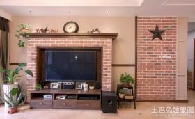 田园风格电视背景墙设计