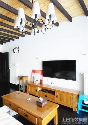 客厅电视柜背景墙装修效果图大全