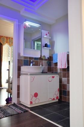 卫生间洗手台浴柜图片