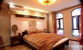 最新现代中式卧室装修效果图欣赏