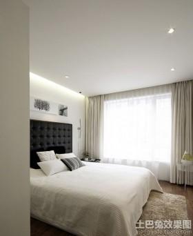 卧室床头软包背景墙装修效果图大全