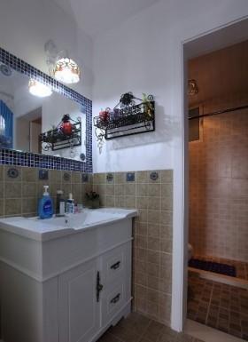卫生间洗手台装修效果图图片