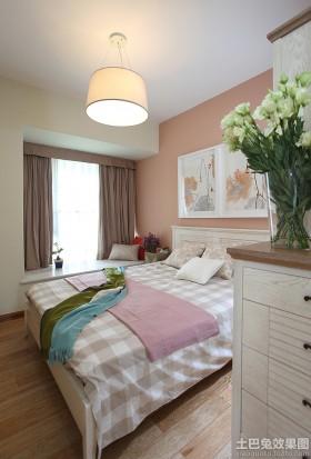 温馨卧室飘窗装修效果图