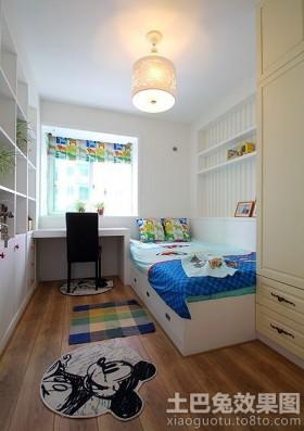 2013简约儿童房间布置效果图