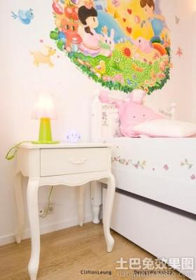 儿童房床头柜装修效果图欣赏