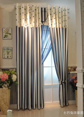 韩式布艺窗帘效果图