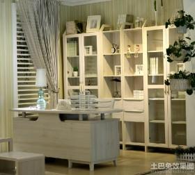 白色实木家具图片