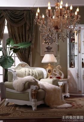 欧式单人沙发图片