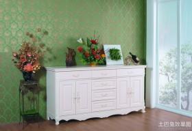 白色简欧家具图片