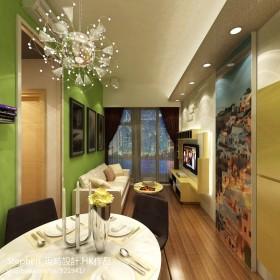 2013小户型客厅餐厅装修效果图
